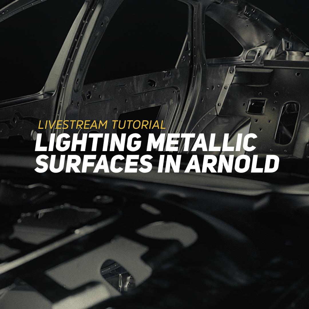 Lighting Metallic Surfaces in Arnold | Greyscalegorilla