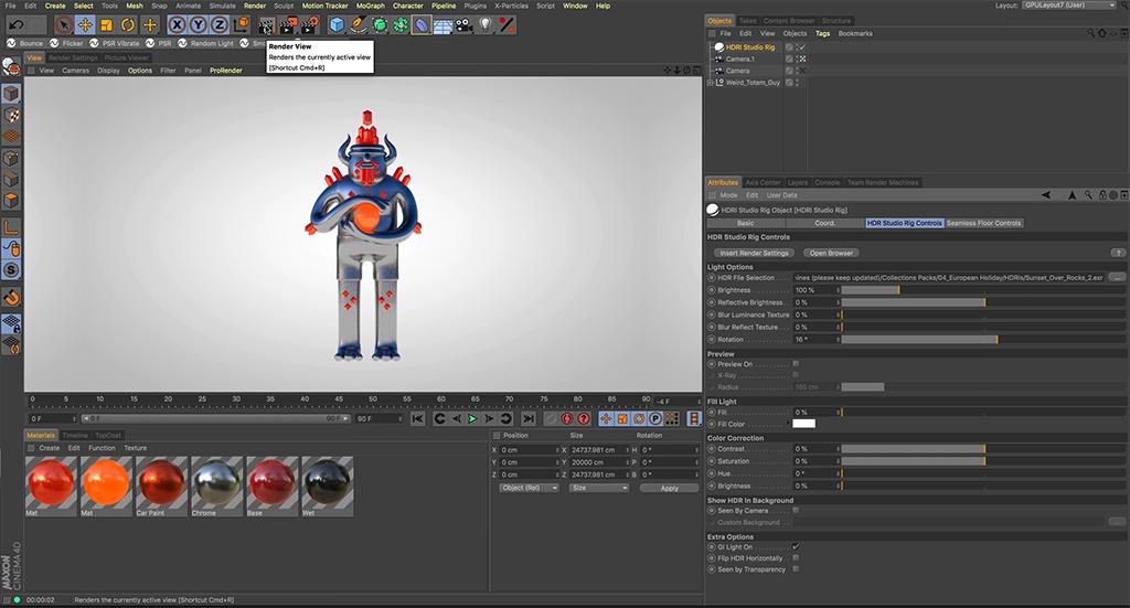 See What's New With HDRI Studio Rig (Free Update) - HDRI Render