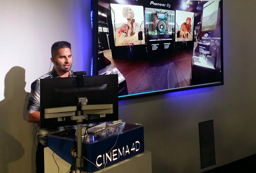 Cineversity Tutorial: Creating Multi Screen Experiences with C4D - Presentation