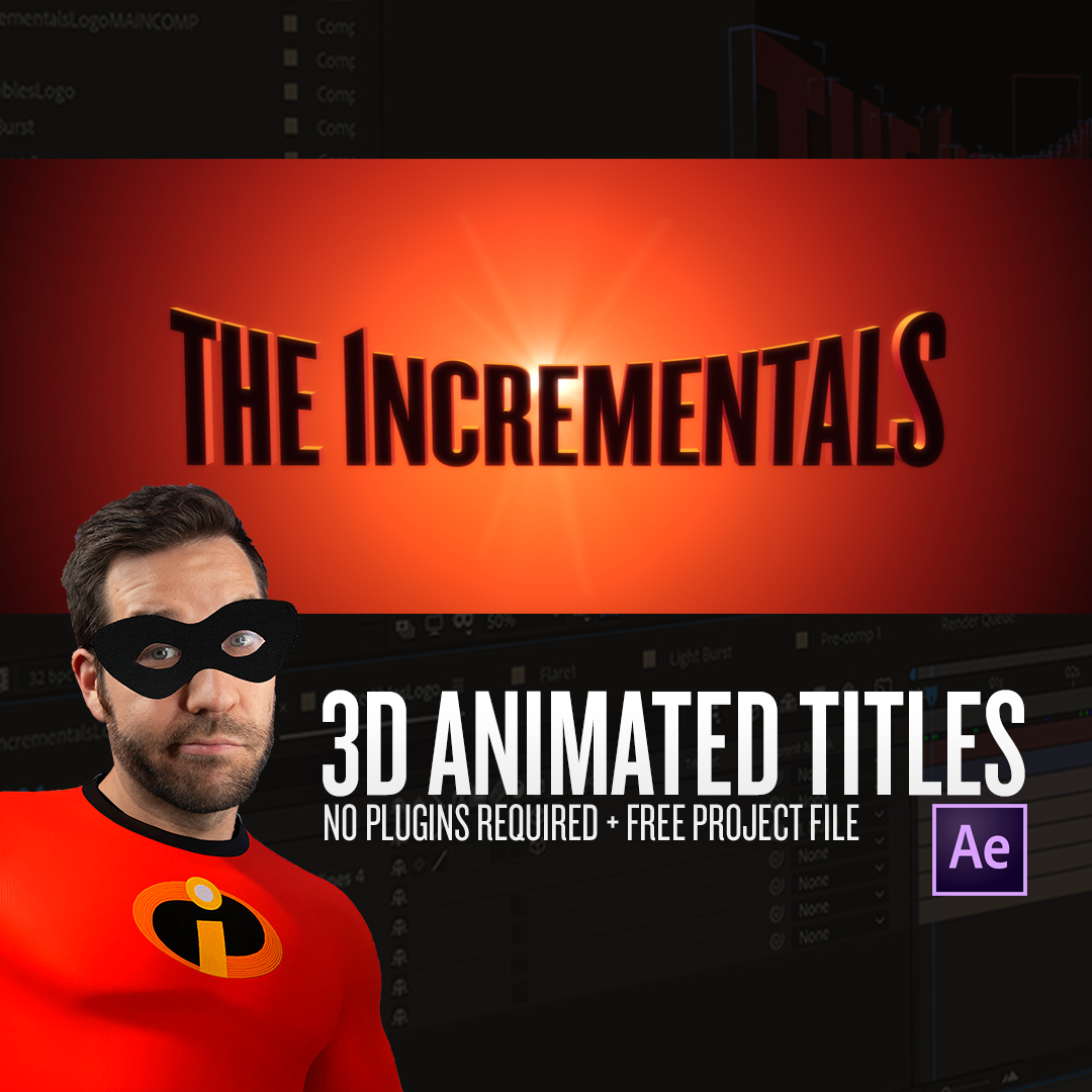 Create an Incredibles-Inspired Logo Animation in After Effects - Featured