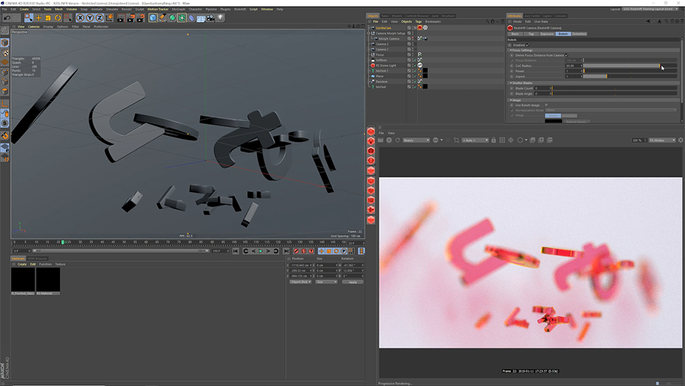 Quick Tips for Better and Faster Redshift Renders in Cinema 4D - Tip 2