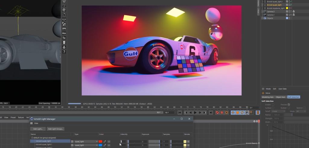 Why Cinema 4D Artists Should Care About ACES Color - ACES Color Chart