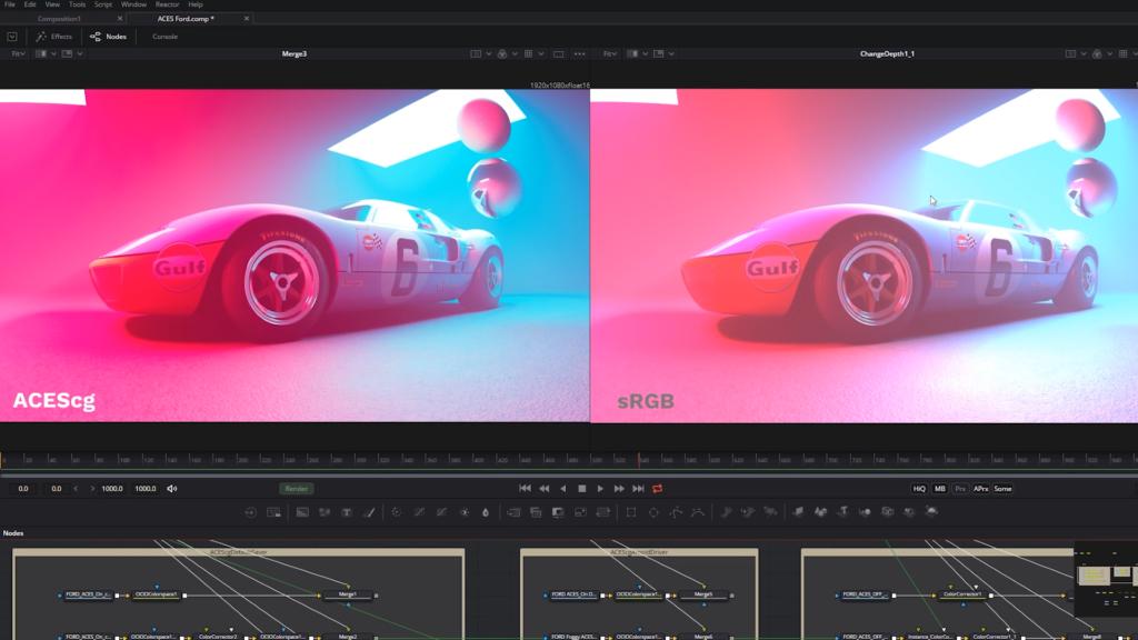Why Cinema 4D Artists Should Care About ACES Color - ACEScg sRGB