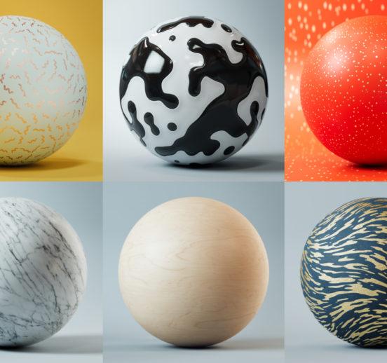 Textured spheres