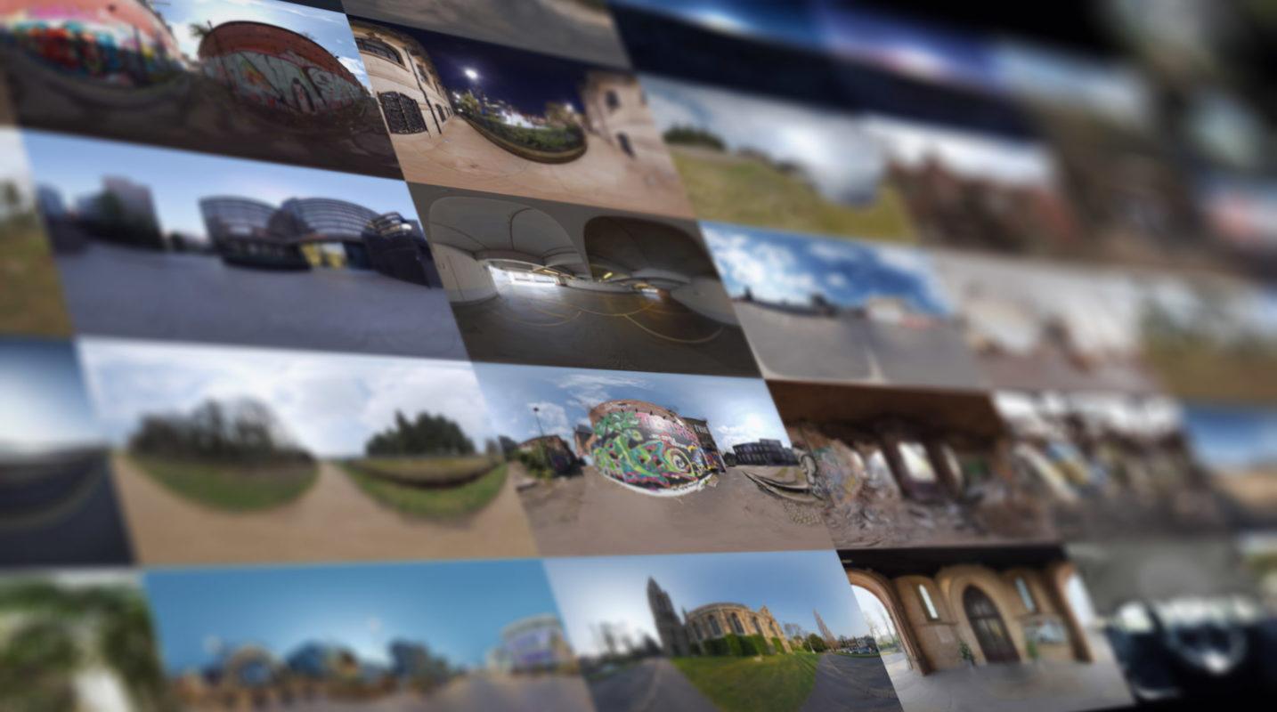 Macro DOF - HDRI Euro Collage