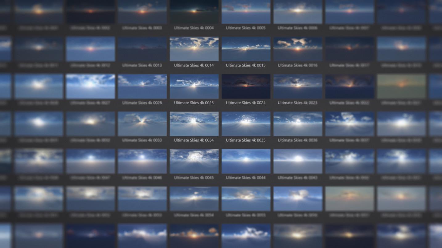 Macro DOF - HDRI Ultimate Skies